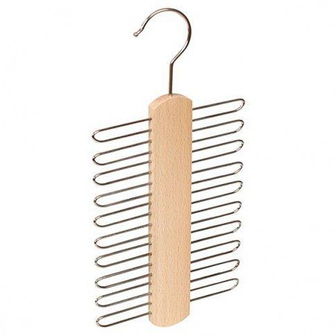 Zdjęcie produktu Wieszak na krawaty Torin - drewniany.