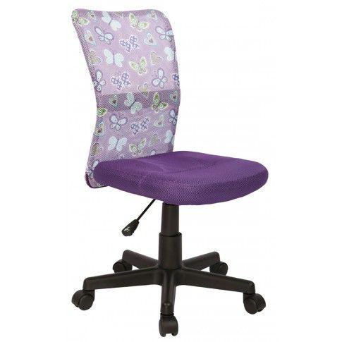 Zdjęcie produktu Fotel młodzieżowy Tobin - fioletowy.