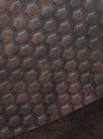 Stylowe krzesło Tulio - brązowe