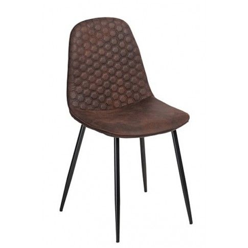 Zdjęcie produktu Krzesło Tulio - brązowe.