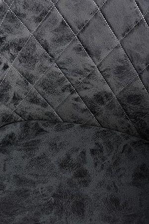 Stylowy fotel Milio - czarny