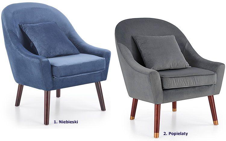 Fotel wypoczynkowy z poduszką Rafis