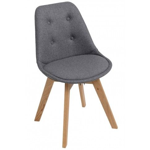 Zdjęcie produktu Krzesło skandynawskie Toro - szare.
