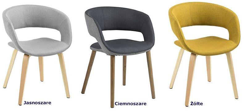 Modne krzesła Stovo - drewniane