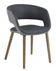 Krzesło skandynawskie Stovo - ciemnoszare