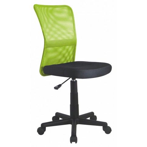 Zdjęcie produktu Obrotowy fotel młodzieżowy Tobin - zielony.