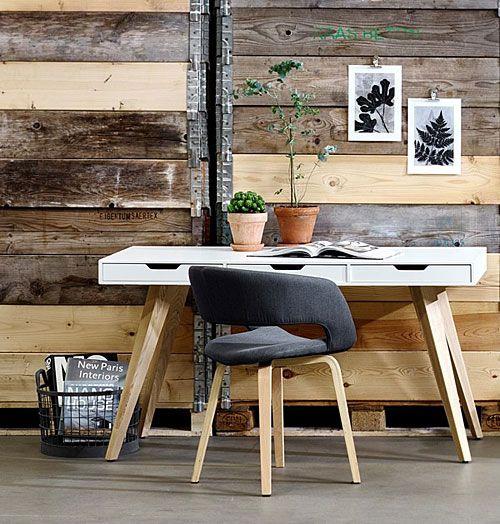 Modne krzesło Stovo 2X - szare