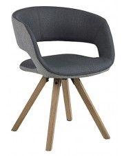 Krzesło skandynawskie Stovo 2X - ciemnoszare w sklepie Edinos.pl
