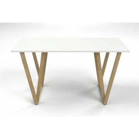 Zdjęcie produktu Skandynawskie biurko Alto 2X - białe.