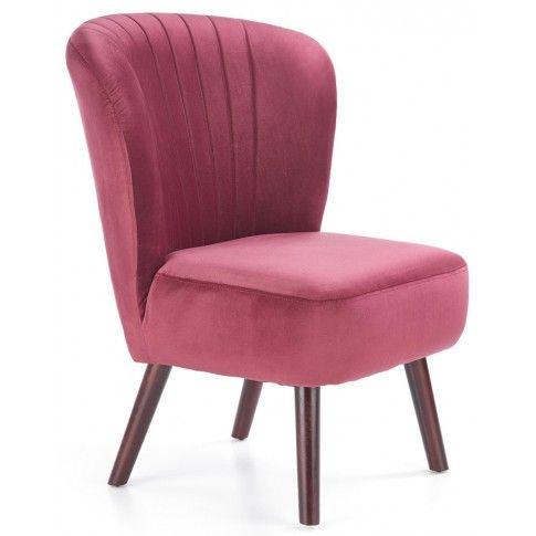 Zdjęcie produktu Fotel wypoczynkowy Lorid - bordowy.