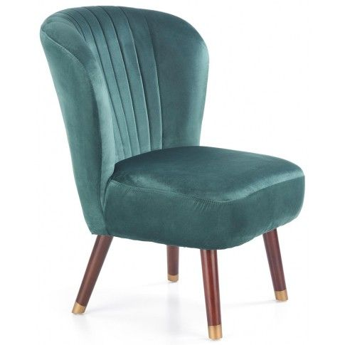 Zdjęcie produktu Fotel wypoczynkowy Lorid - zielony.