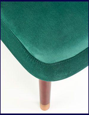 Ciemnozielony fotel relaksacyjny Lorid
