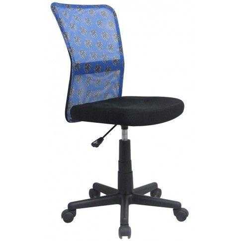Zdjęcie produktu Fotel młodzieżowy Tobin - niebieski.
