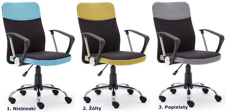Komfortowe krzesło biurowe do komputera Travis