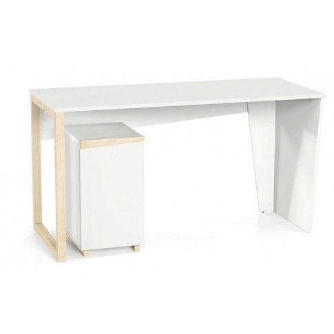 Zdjęcie produktu Skandynawskie biurko Faro - białe.