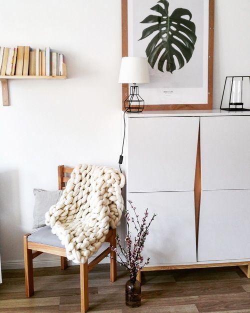 Skandynawska komoda Fibi - biała