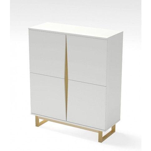 Zdjęcie produktu Skandynawska komoda Fibi - biała.