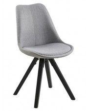 Krzesło Oscar 2X - szary + czarny
