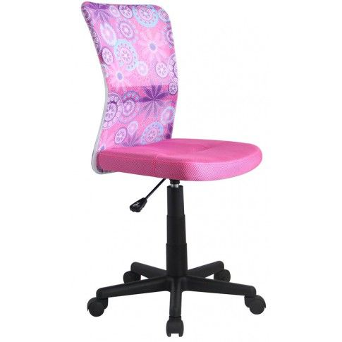 Zdjęcie produktu Fotel młodzieżowy Tobin - różowy.