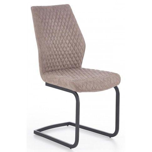 Zdjęcie produktu Krzesło pikowane Erfix - beżowe.