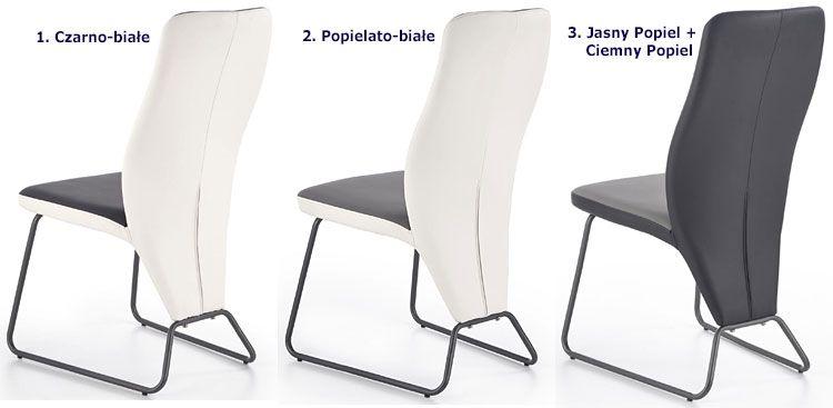Nowoczesne krzesło tapicerowane do kuchni, salonu Asper