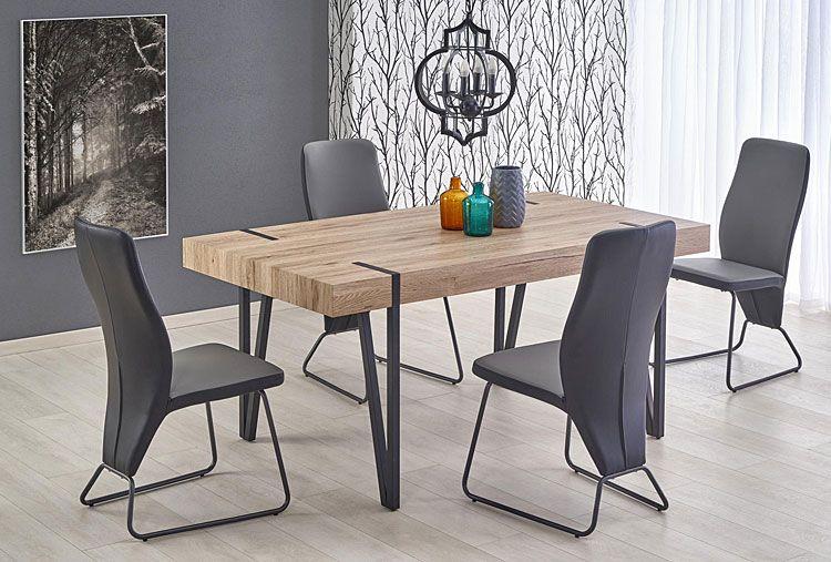 Tapicerowane krzesło kuchenne w nowoczesnym stylu Asper
