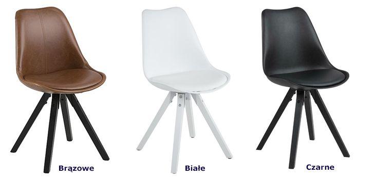 Modne krzesła Oscar 3X - wygodne