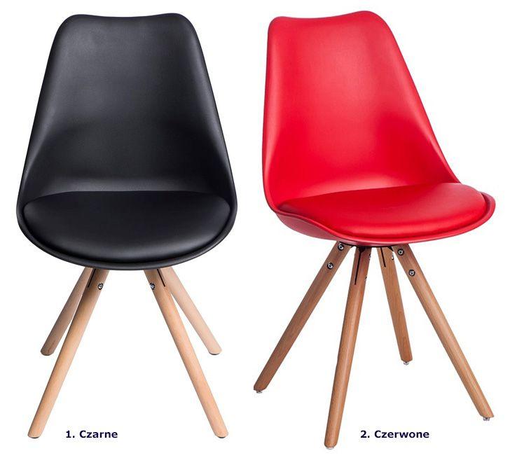Skandynawskie krzesło Netos 4X - do salonu