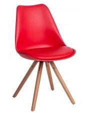 Krzesło Netos 4X - czerwone