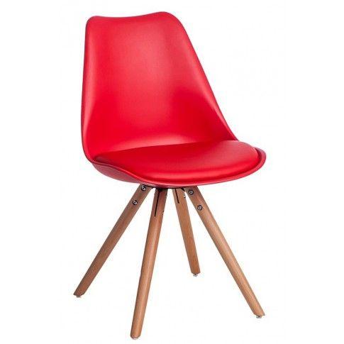 Zdjęcie produktu Krzesło Netos 4X - czerwone.