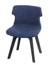Krzesło vintage Duno - niebieskie