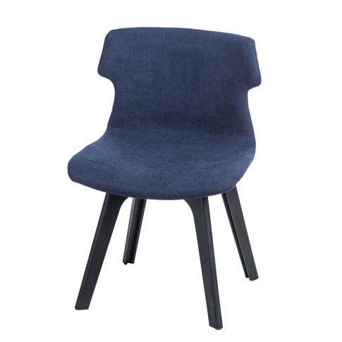 Zdjęcie produktu Krzesło vintage Duno - niebieskie.