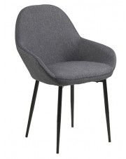 Krzesło Mauris - szare