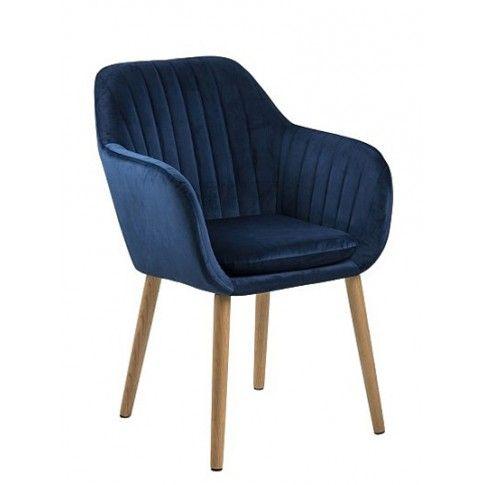 Zdjęcie produktu Fotel Erino - niebieski.
