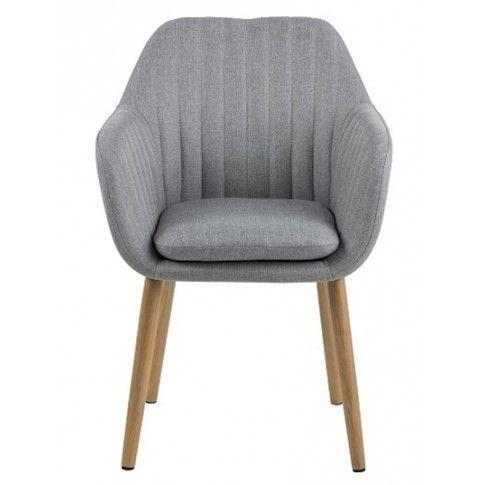 Zdjęcie produktu Fotel z podłokietnikami Erino 2X - szary.