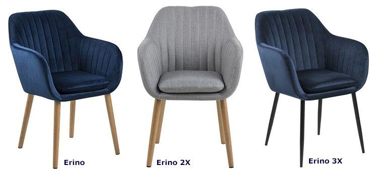Miękkie fotele Erino - modne