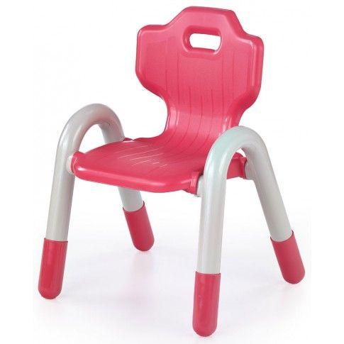 Zdjęcie produktu Krzesełko dziecięce Hippo - czerwone.