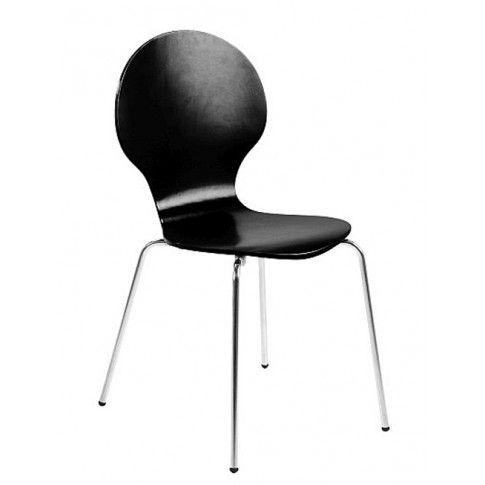 Zdjęcie produktu Krzesło Heglio - czarne.