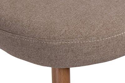 Stylowy fotel brązowy Divon - vintage