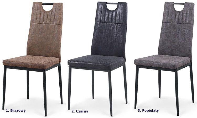 Tapicerowane krzesło do kuchni, jadalni Levin