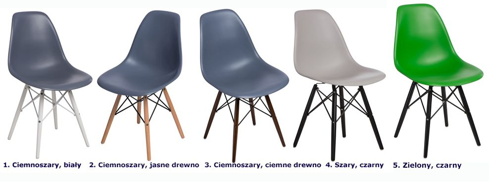 Modne krzesła Epiks - drewniane