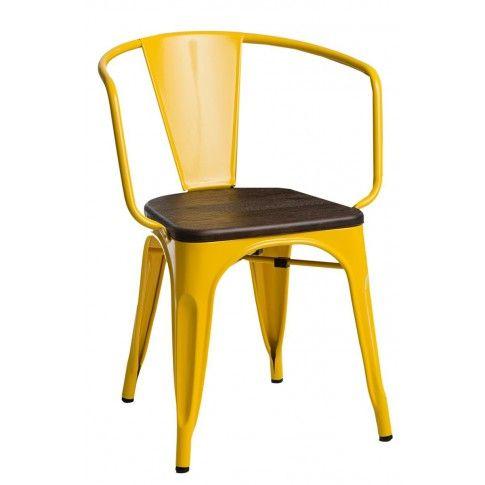 Zdjęcie produktu Krzesło loftowe Kimmi - żółte.