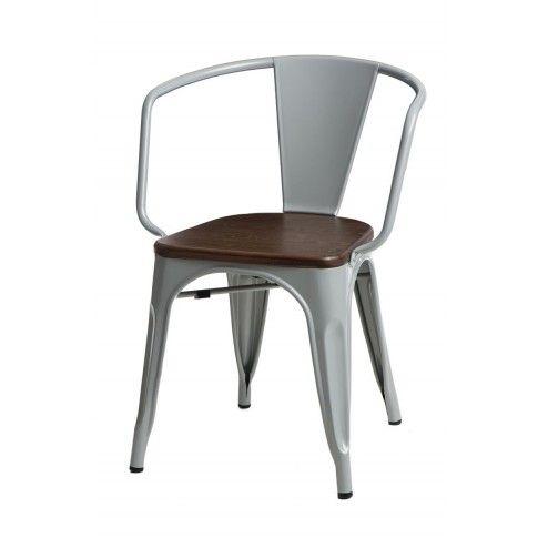 Zdjęcie produktu Krzesło loftowe Kimmi - szare.