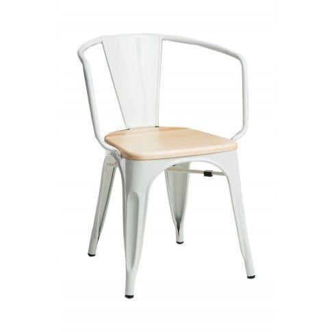 Zdjęcie produktu Krzesło loftowe Kimmi - białe.