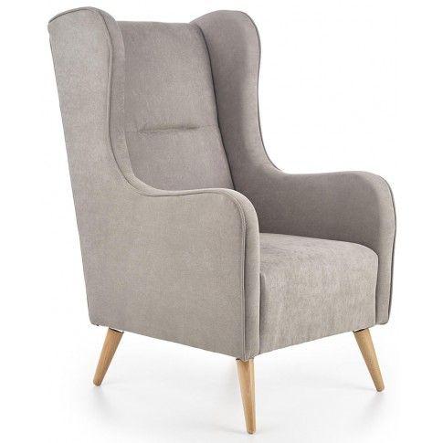 Zdjęcie produktu Fotel wypoczynkowy uszak Narin - jasny popiel.