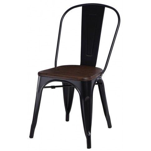 Zdjęcie produktu Krzesło loftowe Kimmi 2X - czarne.