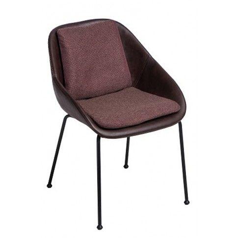 Zdjęcie produktu Krzesło vintage Epir - brązowe.