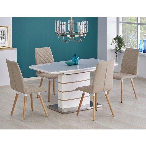 Zdjęcie produktu Stół rozkładany Korso - biały.