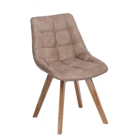 Zdjęcie produktu Krzesło pikowane Albi - beżowe.