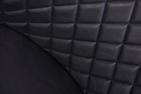 Stylowe krzesło Horus - czarne